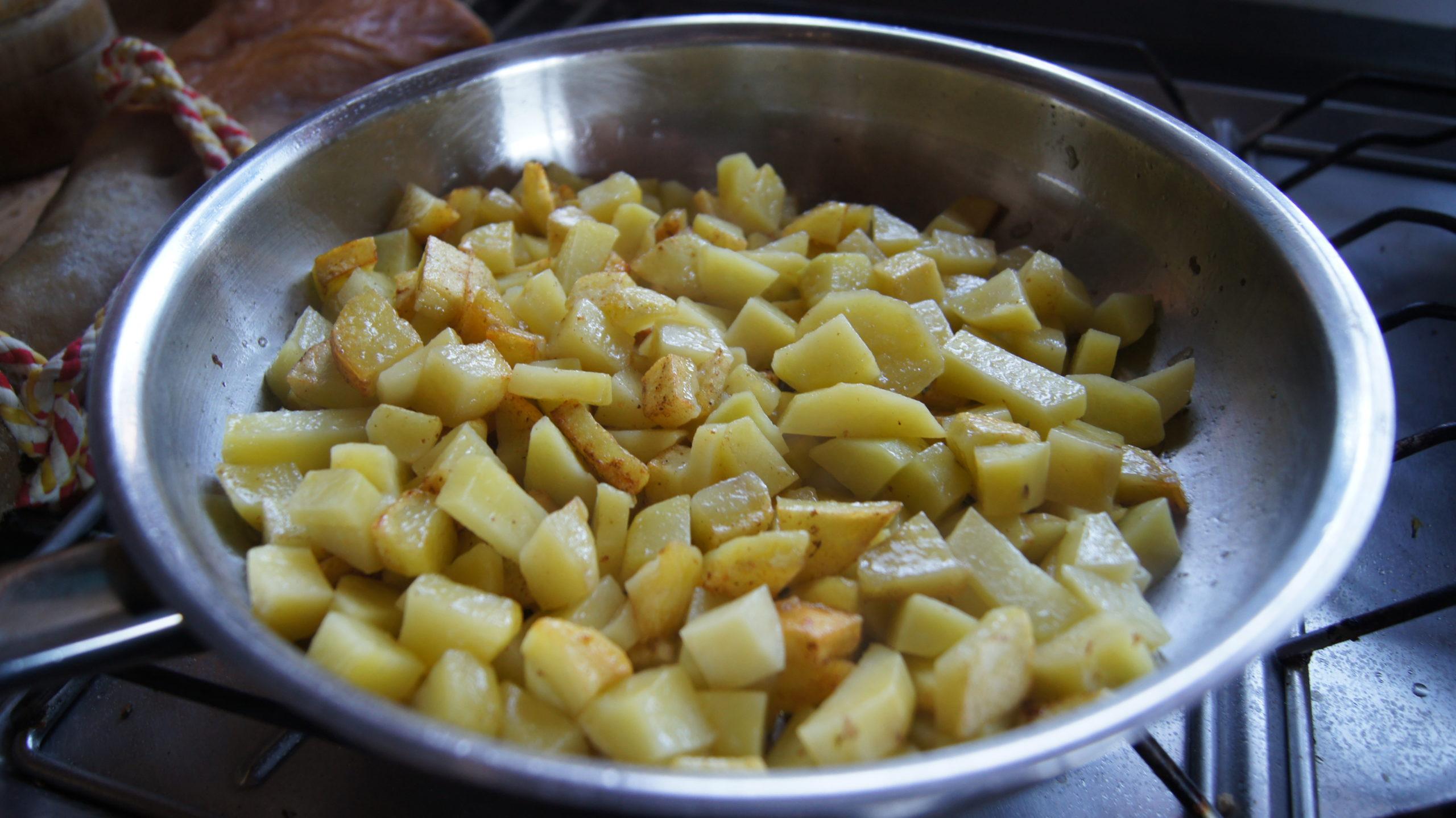 patates sautées
