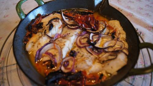 Grillade - chaleur tournante 15 petites minutes pour un filet plat.
